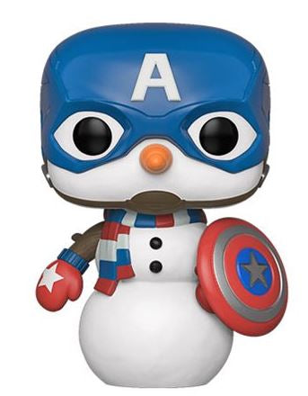 (Pre-Order) Mint Captian America Snowman Holiday Funko Pop - MiscGoodies