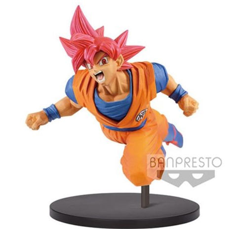 Dragon Ball Super Son Goku Fes!! Super Saiyan God Goku Vol.9 Statue - MiscGoodies
