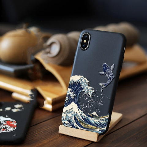 Official Animal Detailed LICOERS Matte Soft Black Case Covers - MiscGoodies