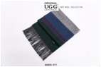 GREEN/PURPLE/NAVY/GREY AUZLAND UGG WOOL SCARF