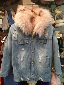 MUBO UGG FOX FUR JACKETS
