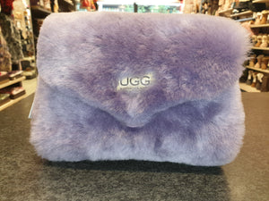 FLUFFY SHEEPSKIN DISCO BAG