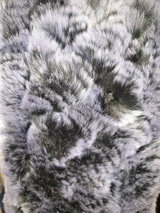 ESSENTIAL TASSELED REX RABBIT FUR