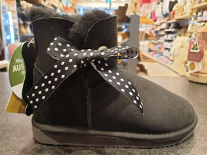 MINI CLASSIC SIDE BOW WITH EYELETS UGG BOOTS