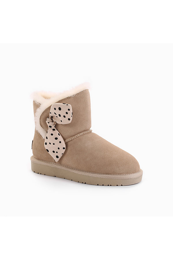 UGG NATALIE BOW BOOTS