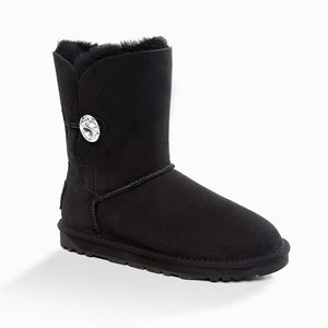 UGG CLASSIC III SHORT BUTTON WITH SWAROVSKI BOOTS