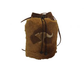 DILLY BAG ROUND KANGAROO FUR