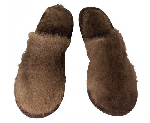 KANGAROO FUR SLIPPERS