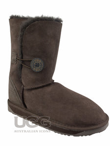 Short Button UGG Boots