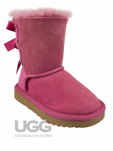 UGG Kids 2 Ribbon Boots (WATER RESISTANT)