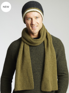 MERINO SNUG WOODBURY STRIPED BEANIE