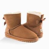 UGG Classic Mini Bailey Bow Boots (WATER RESISTANT)