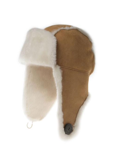 UGG Button Aviator Hat