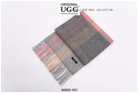 GREY/PINK/CREAM AUZLAND UGG WOOL SCARF