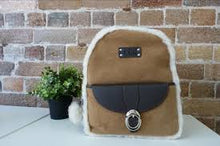 SHEEPSKIN BACKPACK
