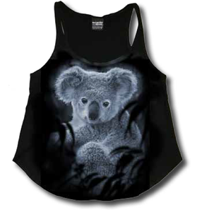 MCCARTHY AND MCCOY FOREST KOALA LADIES TANK SINGLET