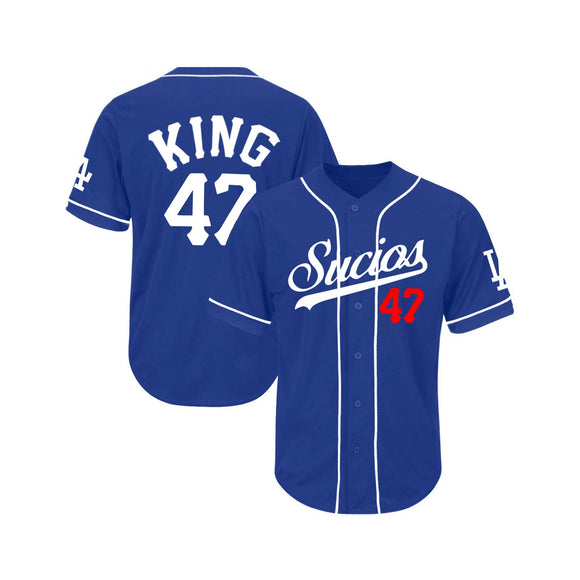Sucios LA jersey ; ROYAL BLUE