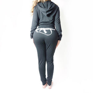 Women's AK47 Sweatsuit; Black