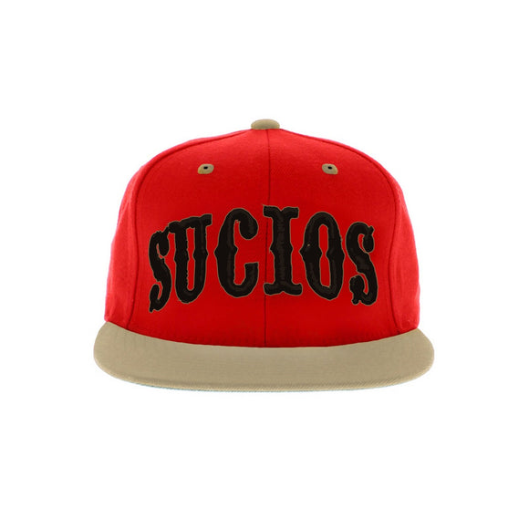 Sucios 49ers Red Snapback