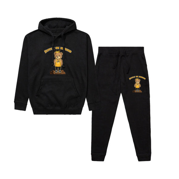 Supply on Demand Black Sweat Suit