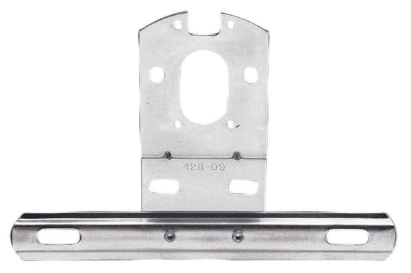 B428-09 Peterson (PM) Universal Steel License Plate/Tag Bracket (BULK) - Buy PM Lights