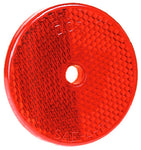 "B477R Peterson (PM) Red Round 2-3/8"" Center-Mount Reflector - Buy PM Lights"