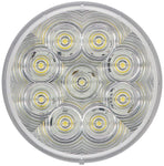 "817SW-9 Peterson (PM) LumenX® LED 4"" Round Class 1 Strobing Light (White) - Buy PM Lights"