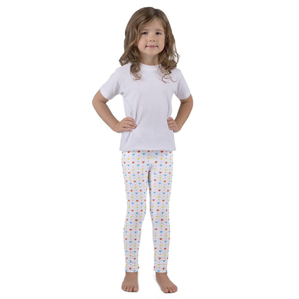 Hearts and Dots Kid's leggings