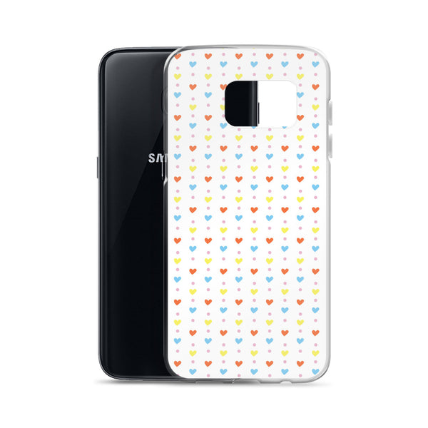 Hearts and Dots Samsung Case
