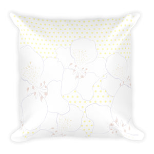 Azaleas Square Pillow