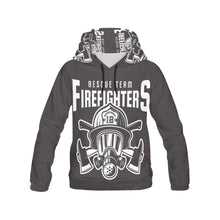 Rescue Team Firefighters Hoodie for Men