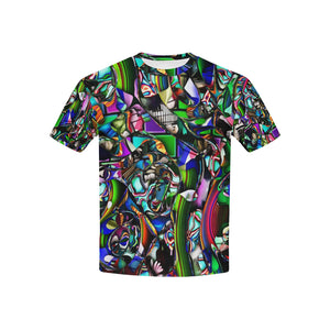 Mindworks Collage #1   All Over Print Tshirt for Kid (USA Size) (Model T40)