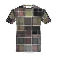 TechTile #1   All Over Print T-Shirt for Men (USA Size) (Model T40)
