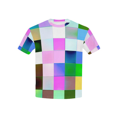 Checkmate All Over Print T-Shirt for Boys and Girls frontview