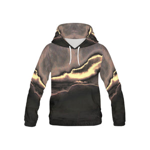Blazing Portal   All Over Print Hoodie for Kid (USA Size) (Model H13)