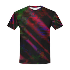Watercolor Satin   All Over Print T-Shirt for Men (USA Size) (Model T40)