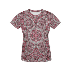 Batik #5A All Over Print T-Shirt for Women