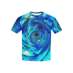 Galaxy Wormhole Spiral 3D   All Over Print Tshirt for Kid (USA Size) (Model T40)