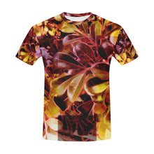 Foliage Patchwork #11   All Over Print T-Shirt for Men (USA Size) (Model T40)