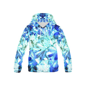 Foliage Patchwork #11 All Over Print Hoodie for Kid