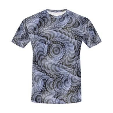 Batik Maharani #4A   All Over Print T-Shirt for Men (USA Size) (Model T40)