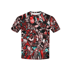 Mindworks Collage #2   All Over Print Tshirt for Kid (USA Size) (Model T40)