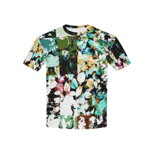 Foliage Patchwork #2   All Over Print Tshirt for Kid (USA Size) (Model T40)