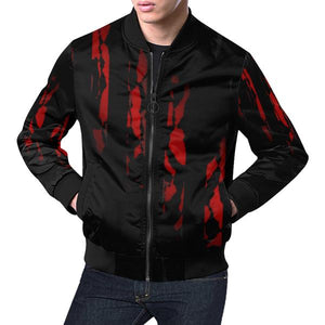 Black Fiery Jacket for Men