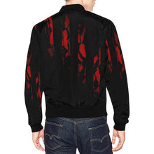 Black Fiery Jacket for Men - back