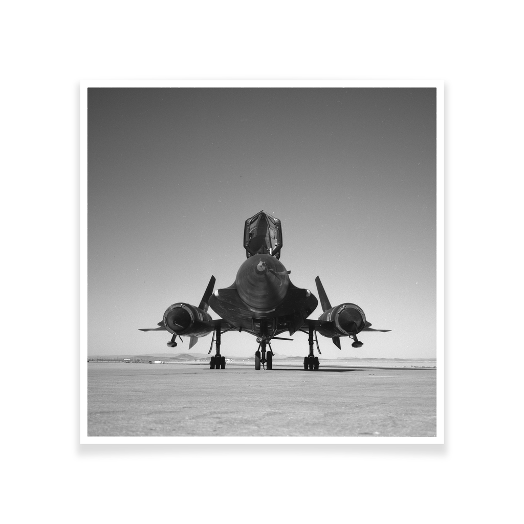 YF-12A 934 On the Ramp Print