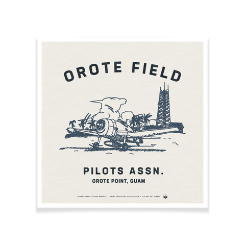 Orote Field Poster