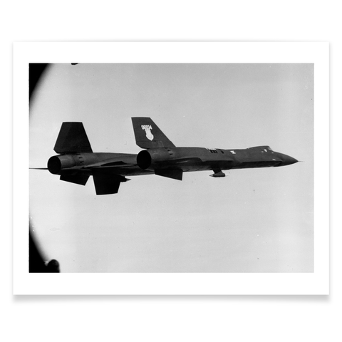 YF-12A 934 In Flight Print