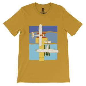 Aquatic Tee Gold