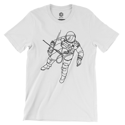 "Spaceman Tee - ""Ed"" White"